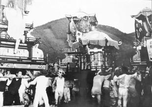 昭和29年宮入り