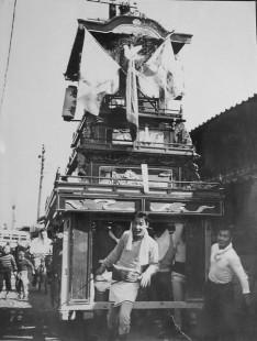 昭和29年風伯神社祭礼