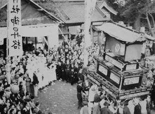 昭和29年天皇だんじり(御旅所)